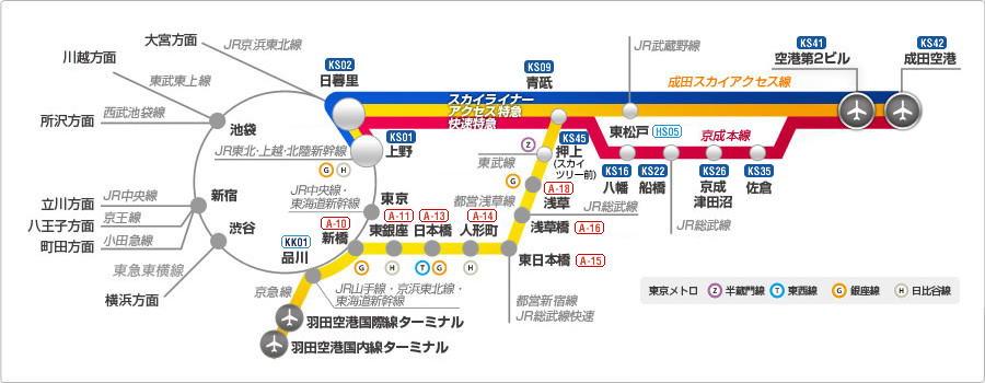 路線 図 線 京成 路線図/駅情報